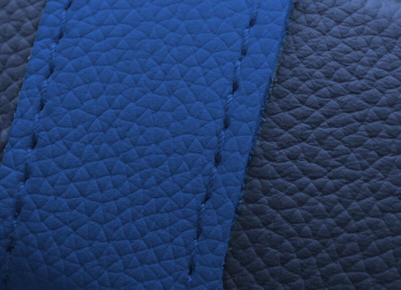 Donkerblauw/koningsblauw