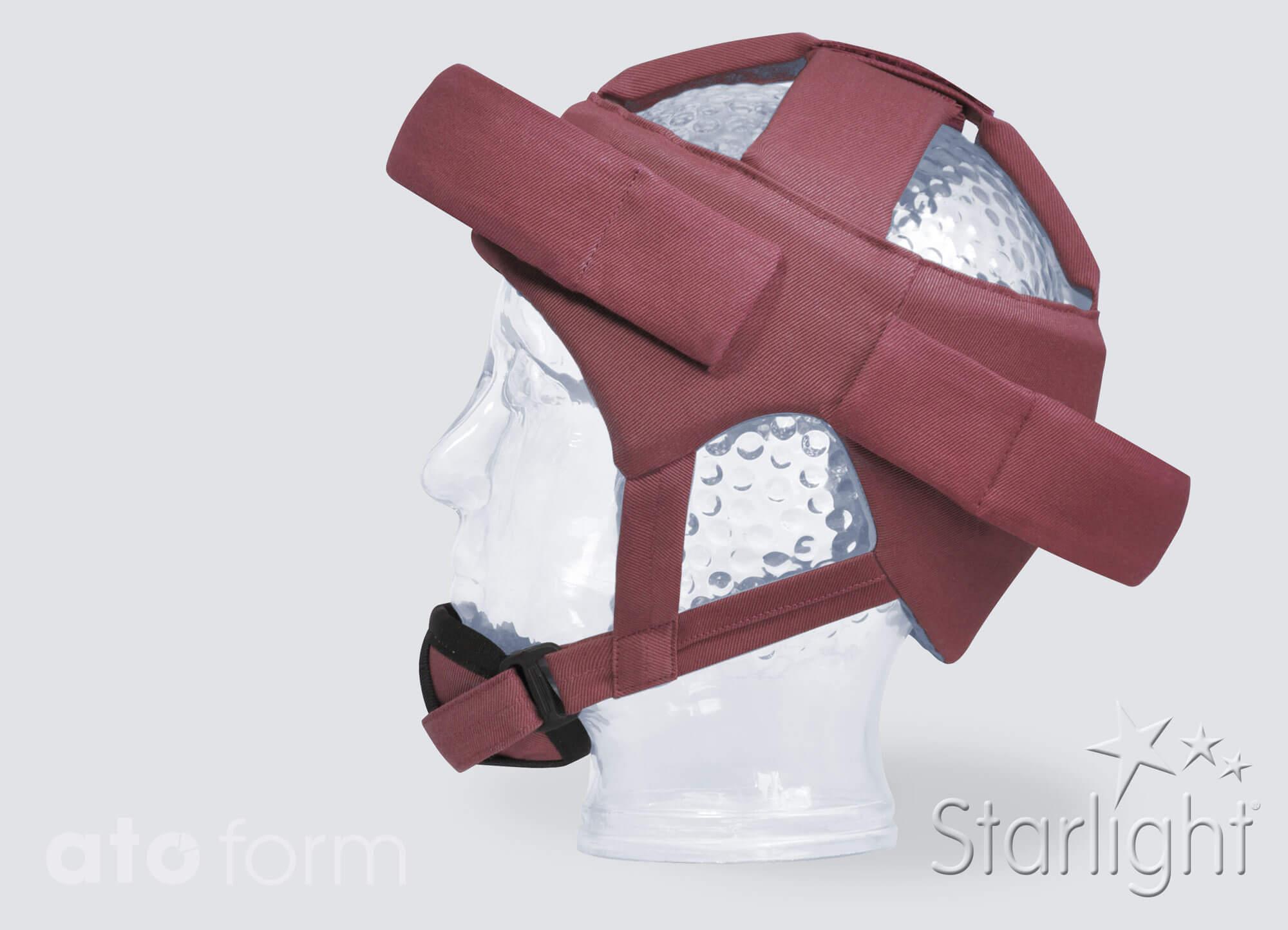 Hoofdbescherming Starlight® Base met accessoires (kinbescherming, voorhofds- en nekbescherming)