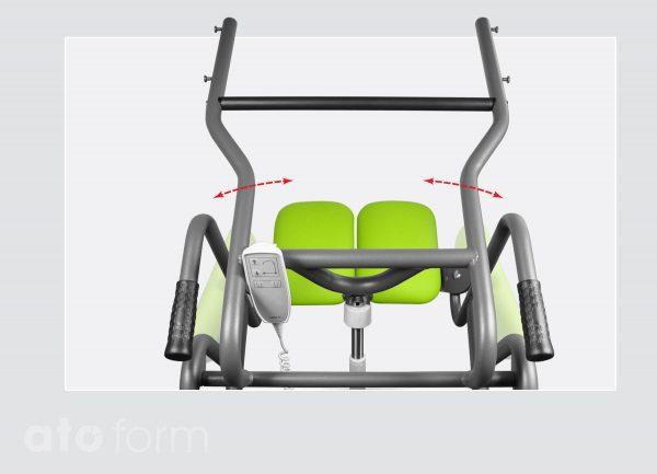 Mover - Schwenkbare Sitzplatten