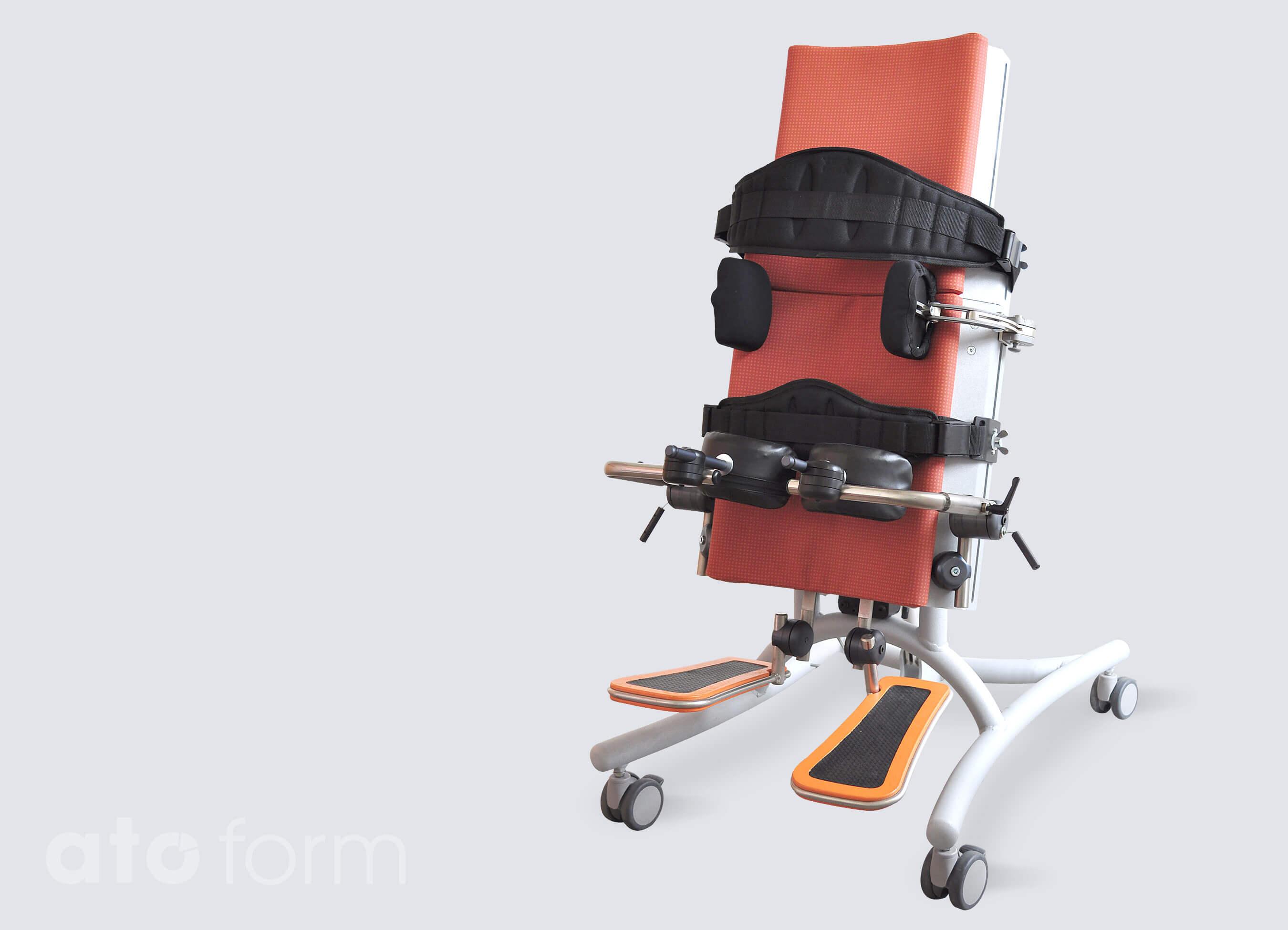 Novum® 1 met meerdere verstelbare romp/bekkensteunen, en kniesteunen (accessoires)