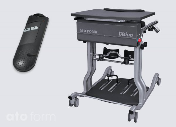 Sta-tafel met powerlift Vision®