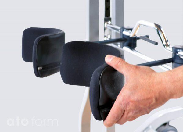 3-D verstelbare kniesteunen