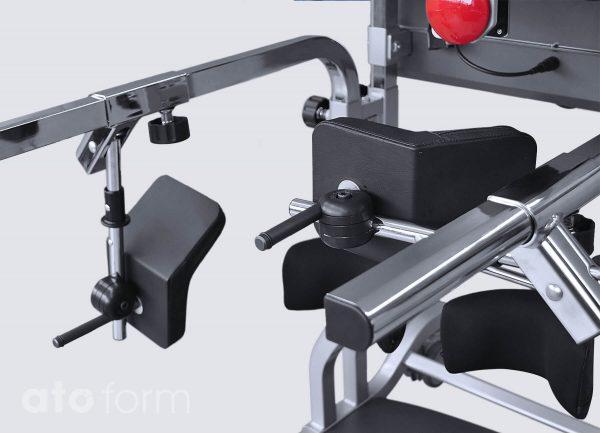 3-D verstelbare bekkensteun (accessoire)