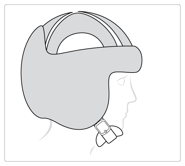 Starlight® Protect-Evo met gesloten bovenkant en oorbescherming