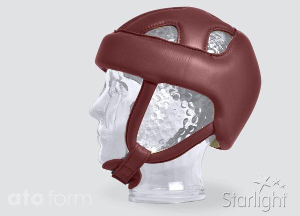 Starlight® Protect-Evo - de ronde vorm van de oor-riemen zorgt voor een optimale pasvorm van de kinband.