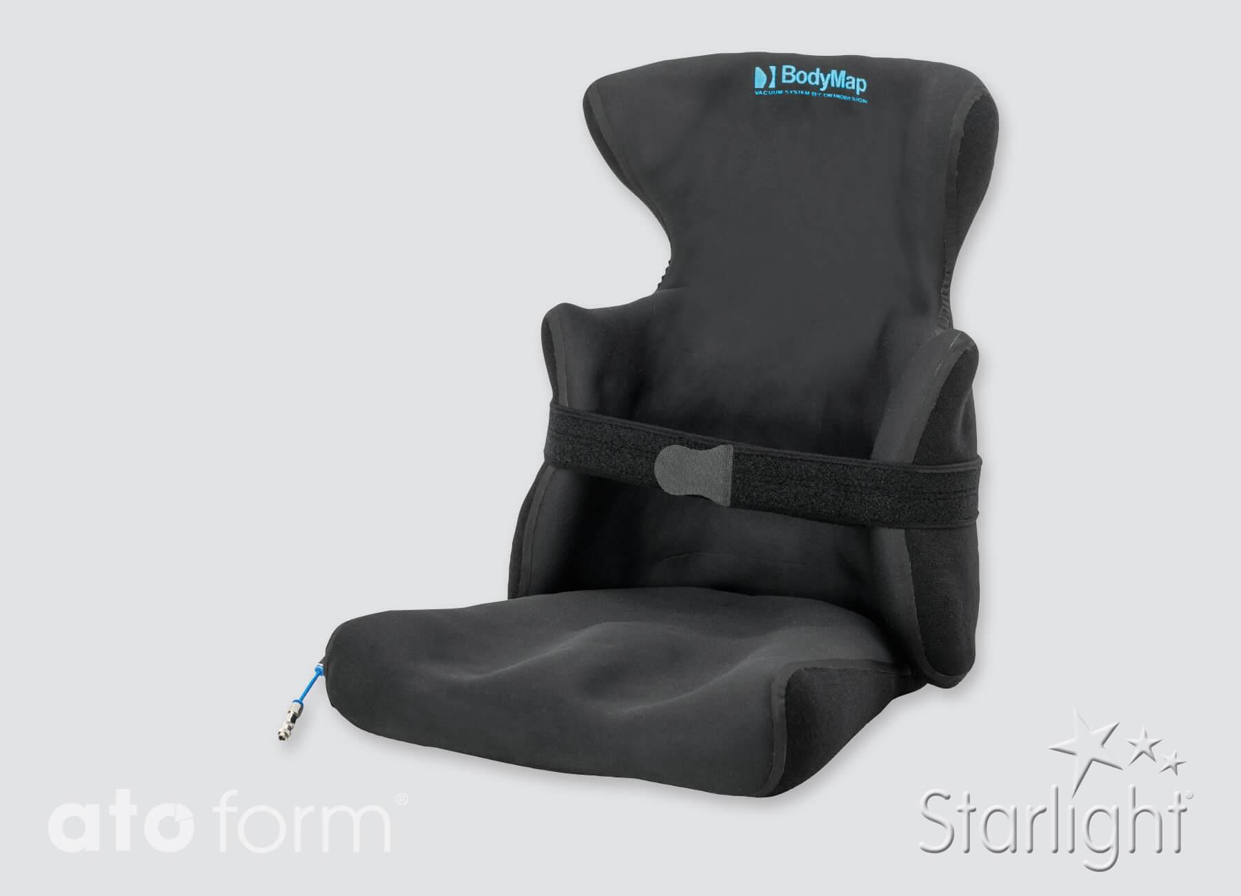BodyMap® AC Vacuümpositioneringkussen mit hoofdsteun en zijpads
